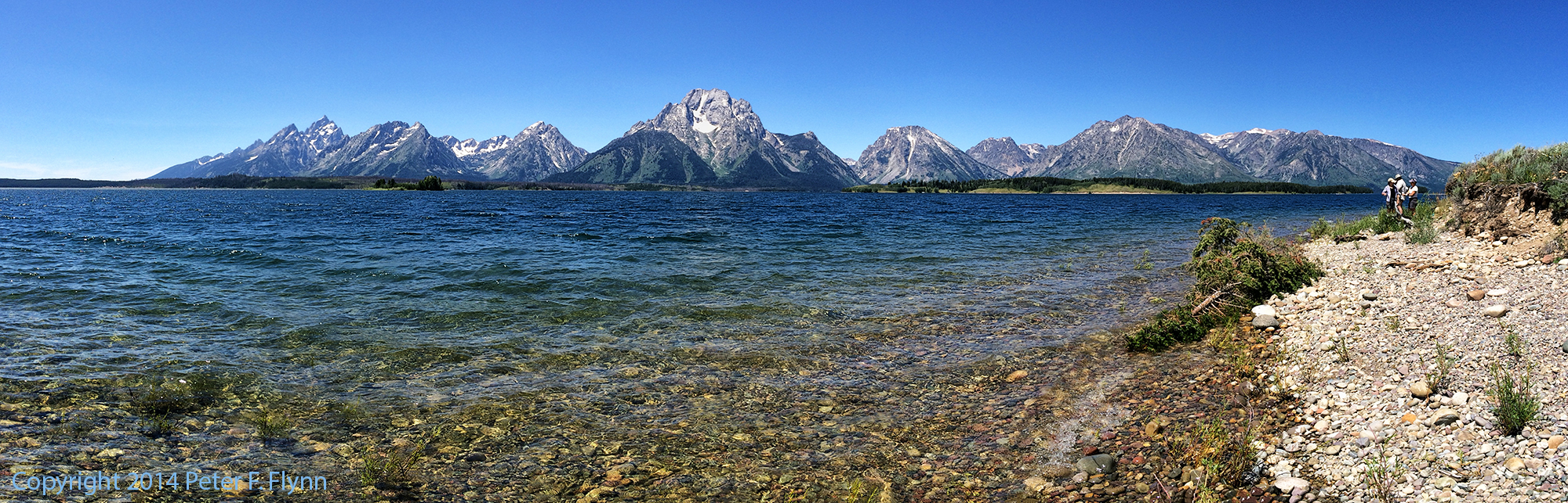 Hermitage Point Trail, Grand Teton National Park